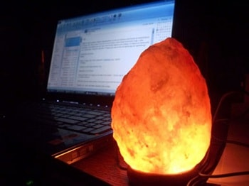 HOMY Mini Color Changing Salt Lamp